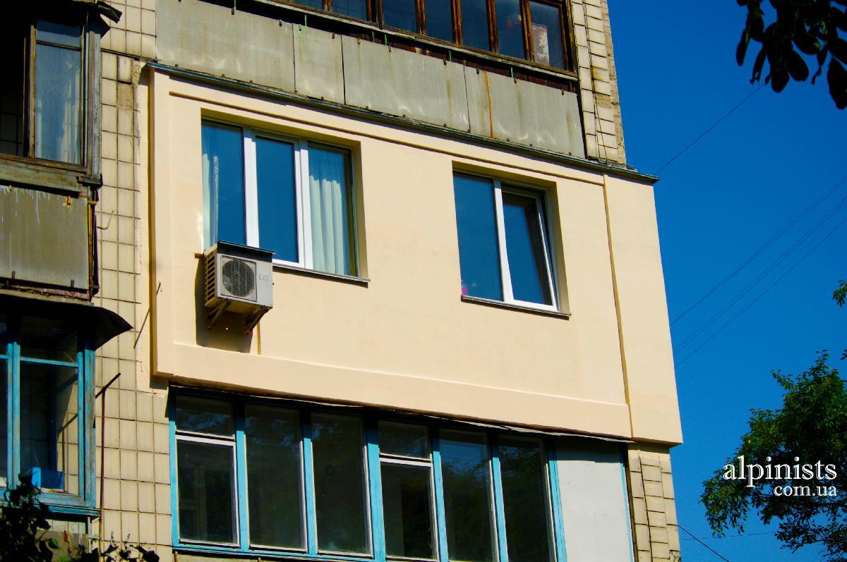 Утепленные балконы и лоджии высотные работы киев.