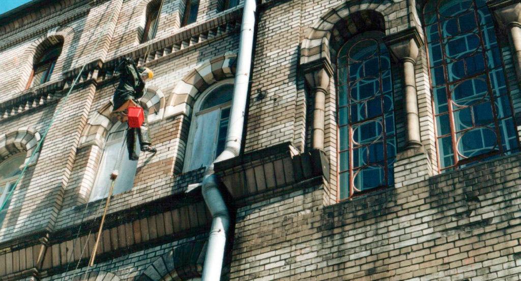 очистка здания после пожара