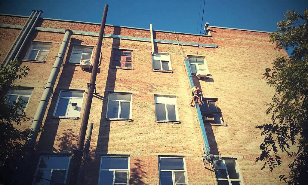 монтаж и демонтаж вентиляции